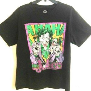 Vintage Batman The Joker T Shirt Size Medi…